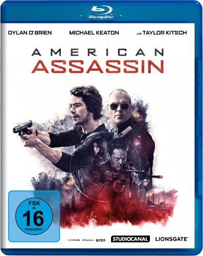 American Assassin Blu-ray Review Cover