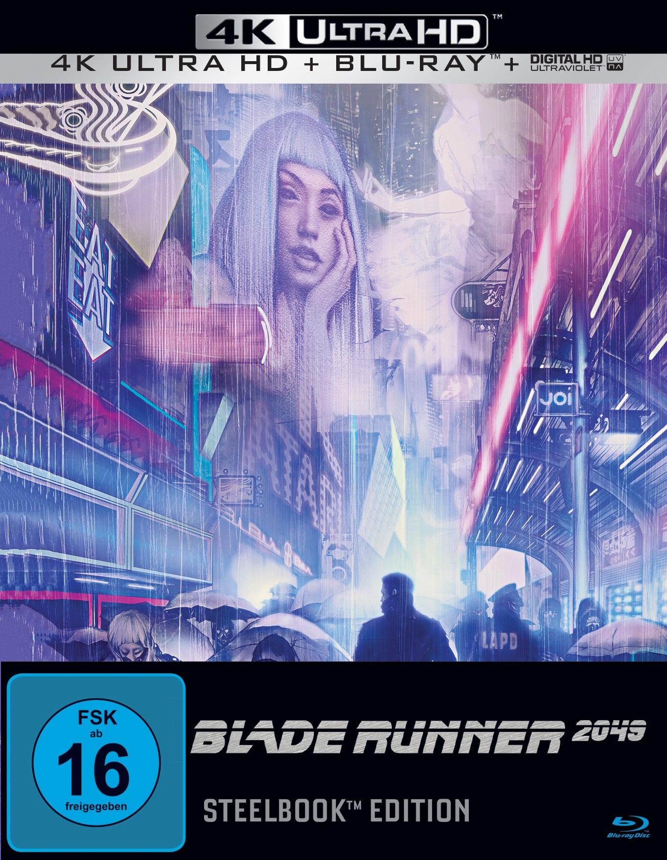 UHD Blu-ray Kritik | Blade Runner 2049 (4K Review, Rezension)
