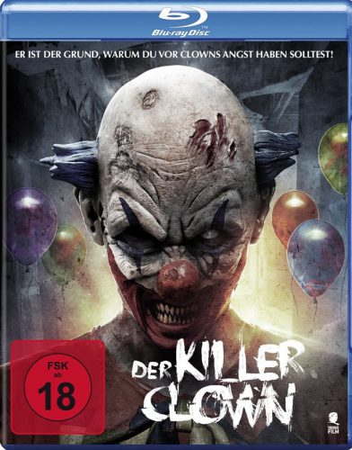 Der Killerclown Blu-ray Review Cover-min