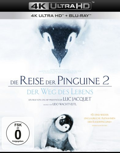 Die Reise der Pinguine 4K UHD Blu-ray Review Cover