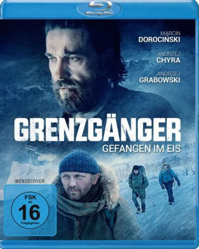 Grenzgänger - Gefangen im Eis Blu-ray Review Cover