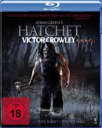 Hatchet - Victor Crowley Blu-ray Review Cover-min