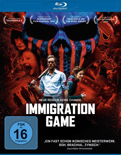 Immigration Game. Neue Regeln. Keine Chance. Blu-ray Review Cover