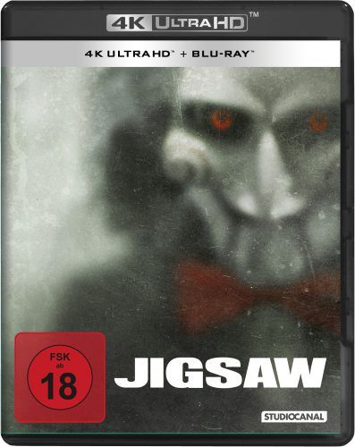 Jigsaw 4K UHD Blu-ray Review Cover
