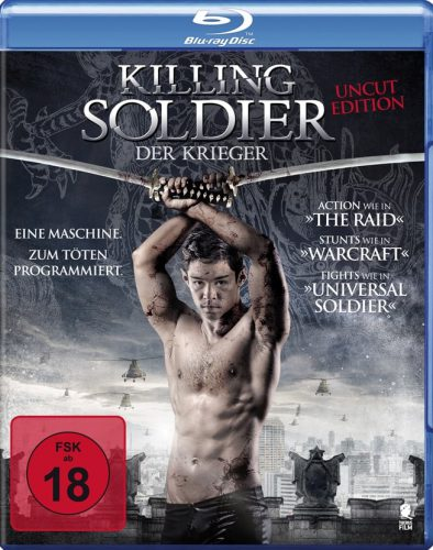 Killing Soldier - Der Krieger Blu-ray Review Cover-min
