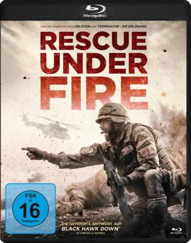 Rescue Under Fire Blu-ray Review Cover