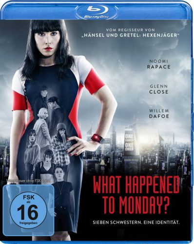 What Happened to Monday Blu-ray Review Cover