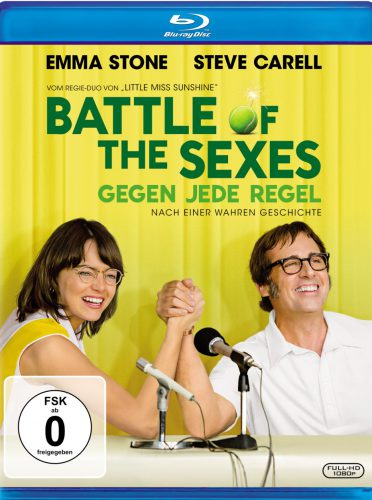 Battle of the Sexes - Gegen jede Regel Blu-ray Review Cover