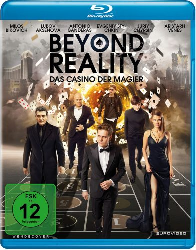 Beyond Reality - Das Casino der Magier Blu-ray Review Cover