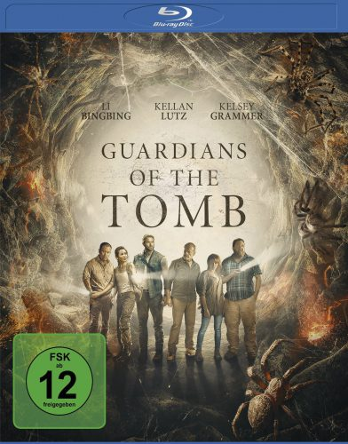 Guardians of the Tomb Blu-ray Review Cover