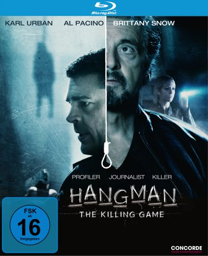 Hangman - The Killing Game Blu-ray Review Cover