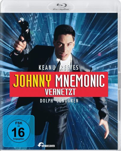 Johnny Mnemonic Blu-ray Review Cover