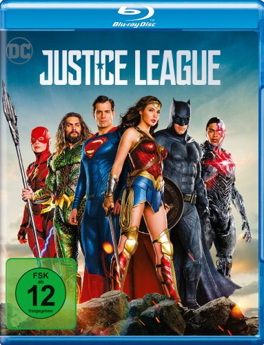 Justice League Blu-ray Review Cover