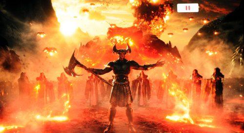 Justice League Dolby Vision Bildvergleich BD vs UHD 8