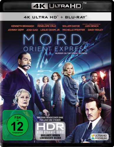 Mord im Orient Express 4K UHD Blu-ray Review Cover
