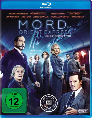 Mord im Orient Express Blu-ray Review Cover