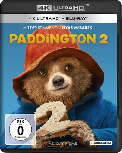 Paddington 2 4K UHD Blu-ray Review Cover