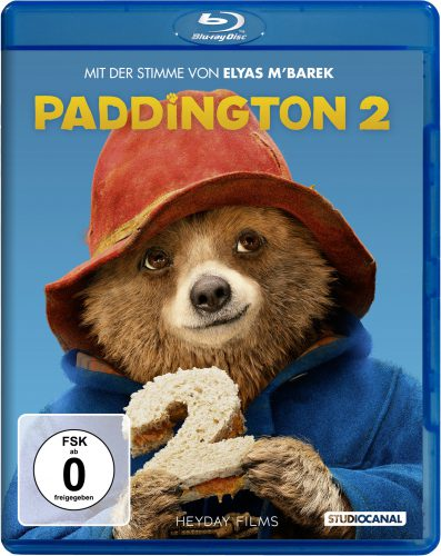Paddington 2 Blu-ray Review Cover