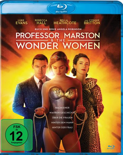 Professor Marston & the Wonder Women Blu-ray Review Cover