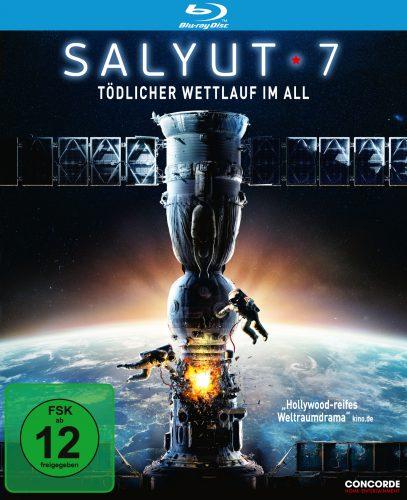 Salyut-7 Tödlicher Wettlauf im All Blu-ray Review Cover