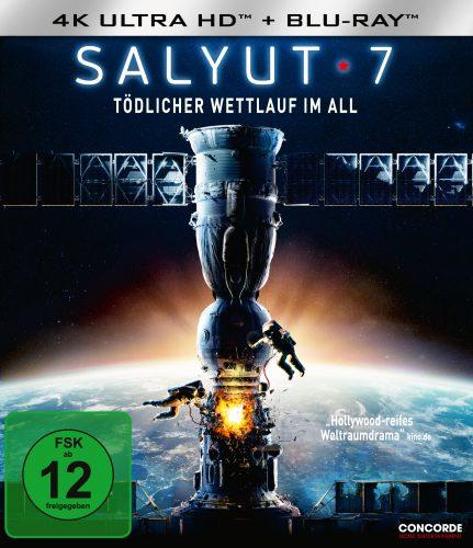 Salyut-7 Tödlicher Wettlauf im All 4K UHD Blu-ray Review Cover