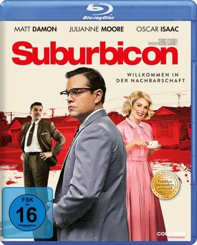 Suburbicon Blu-ray Review Cover