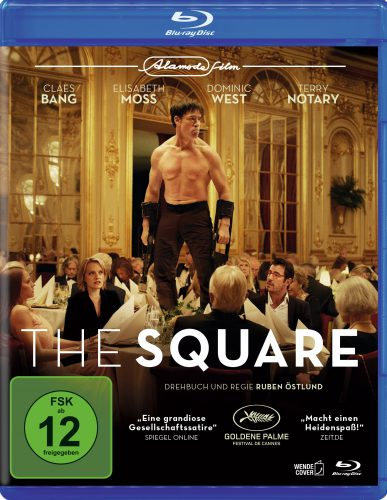 The Square Blu-ray Review Cover