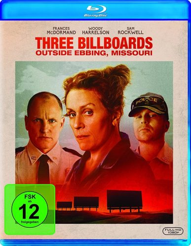 Three Billboards Outside Ebbing, Missouri 4K UHD Blu-ray Review Cover