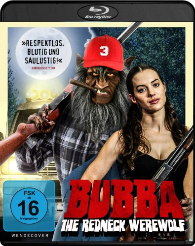 Bubba the redneck werewolf Blu-ray Review Cover