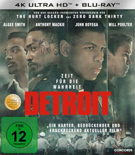 Detroit 4K UHD Blu-ray Review Cover