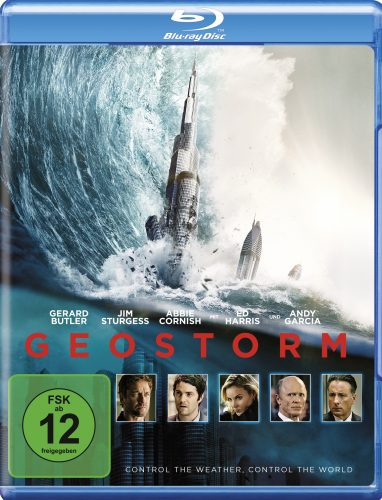 Geostorm Blu-ray Review Cover