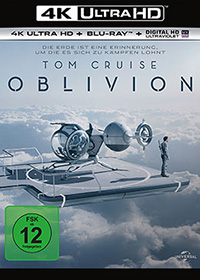 Oblivion 4K UHD Blu-ray Review Cover
