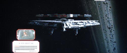 Star Wars Die letzten Jedi Bildvergleich BD vs UHD 1