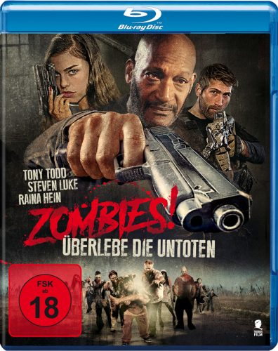 Zombies - Überlebe die Untoten Blu-ray Review Cover