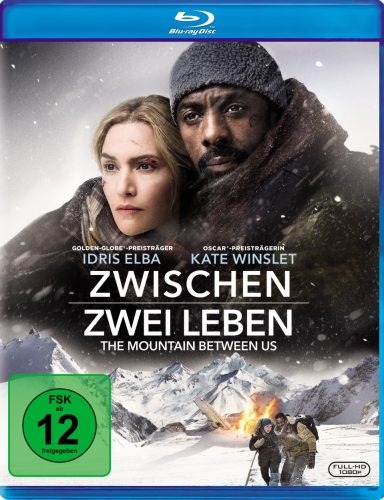 Zwischen zwei Leben - The Mountain Between us Blu-ray Review Cover