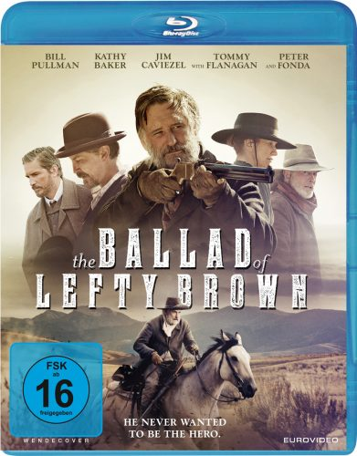Ballad of Lefty Brown Blu-ray Review Cover