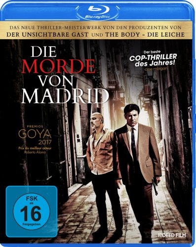 Die Morde von Madrid Blu-ray Review Cover