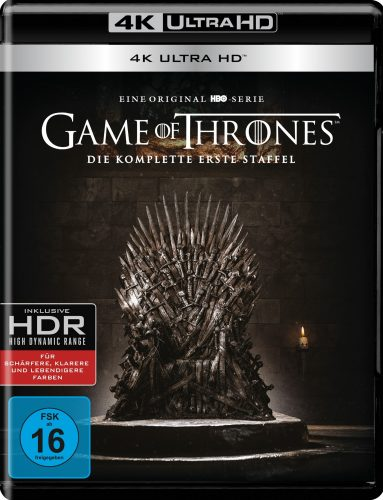 Game of Thrones 4K UHD Blu-ray Review Cover
