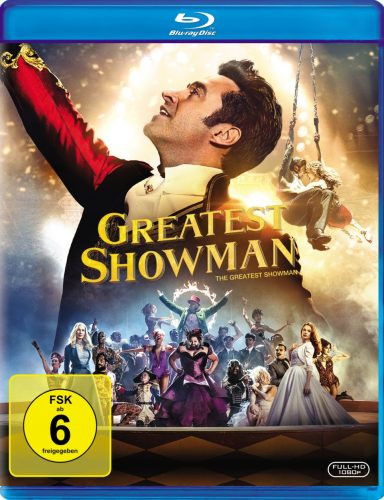 Greatest Showman Blu-ray Review Cover
