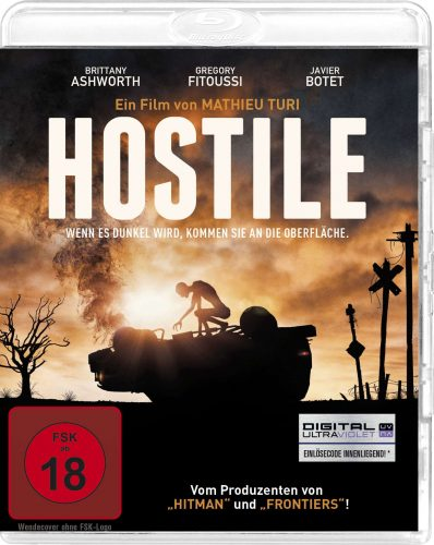 Hostile Blu-ray Review Cover
