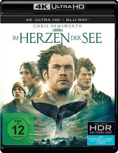 Im Herzen der See 4K UHD Blu-ray Review Cover