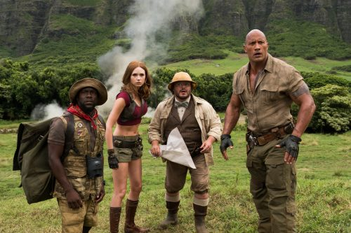 Jumanji - Willkommen im Dschungel 4K UHD Blu-ray Review Szene 3