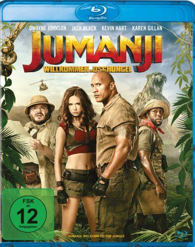 Jumanji - Willkommen im Dschungel Blu-ray Review Cover