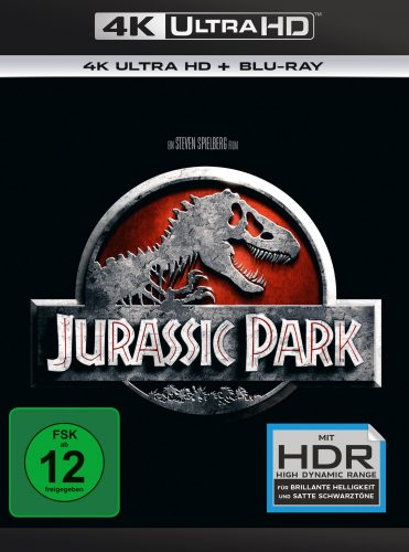 Jurassic Park 4K UHD Blu-ray Review Cover