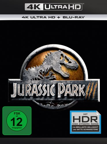 Jurassic Park III 4K UHD Blu-ray Review Cover