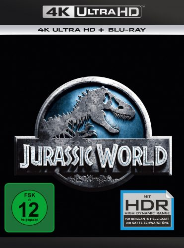 Jurassic World 4K UHD Blu-ray Review Cover