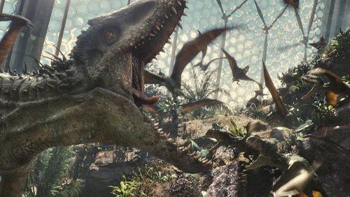Jurassic World 4K UHD Blu-ray Review Szene 2