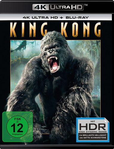 King Kong 4K UHD Blu-ray Review Cover
