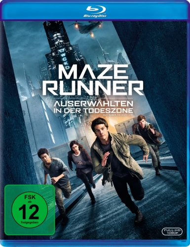 Maze Runner - Die Auserwählten in der Todeszone Blu-ray Review Cover
