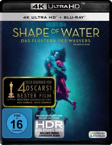 Shape of Water - Das Flüstern des Wassers 4K UHD Blu-ray Review Cover